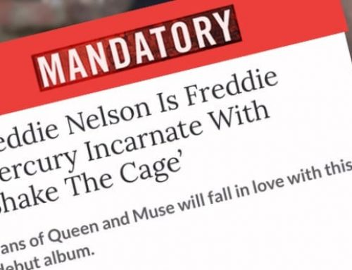 Freddie Nelson Is Freddie Mercury Incarnate With 'Shake The Cage' – Mandatory.com